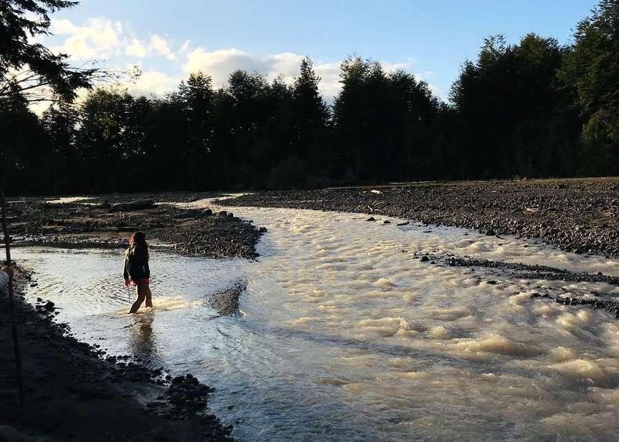 Caminata por el rio, experiencias en Ensenada