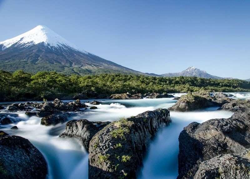 Petrohue Falls, experiences in Ensenada